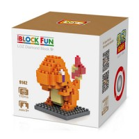 Loz Lego Nano Block Pokemon Charmander 9142