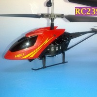 RC239 Merah - Helicopter MINI 2.5 CH Radio Remote Control