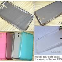 Jual Softcase Gel Silikon Soft Case Kondom Asus Padfone S / X PF500KL