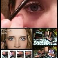 palette cosmetic 2 eyebrow 4 eyeshadow & pensil alis mata kosmetik pen