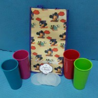 Medium Tumbler With Bag Mickey Mouse Tupperware