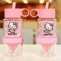 Citrus Juicer Botol Air Minum Infuse Water Hello Kitty HK Anak Tritan