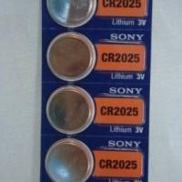 ORIGINAL SONY CR2025 / CR 2025 BATRE / BATERAI / BATTERY