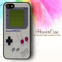 GAMEBOY Iphone 5/5s RUBBER case,soft,bumper,casing,unik,nintendo,game