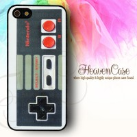 NINTENDO JOYSTICK Iphone 5/5s RUBBER case,soft,bumper,casing,unik,lucu