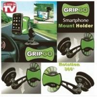 GRIP GO / CAR MOBILE HOLDER GRIPGO /DUDUKAN PONSEL /GPS TANPA BAUT