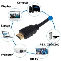 Full HD Cable HDMI Laptop , PC , etc to HDMI Projector,TV,etc. 1 Meter