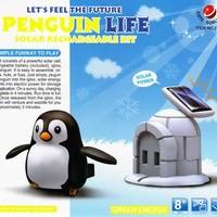 Solar Robot Kit Penguin / Solar Robot Kehidupan Penguin / Robot Penguin / Penguin Life / robot penguin / mainan edukasi robotik
