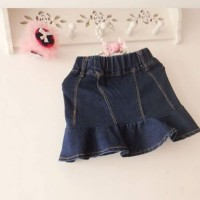 Rok Mini Jeans - Merk Popular