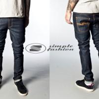 Celana Jeans Nudie Skinny Black Garment