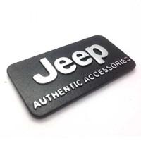 Emblem Mobil Jeep Authentic Accesories