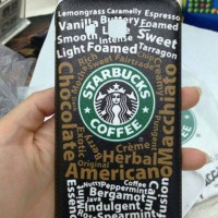 Starbucks printed back cover samsung galaxy grand 2