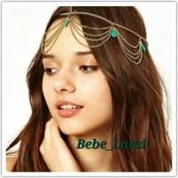 Headpiece headband rantai ala cleopatra