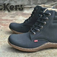 Sepatu kickers boots black
