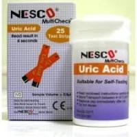 Strip Asam Urat / Nesco Uric Acid  25 Strips
