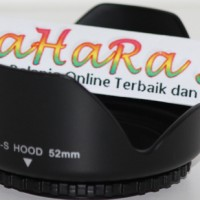 Lens Hood For Nikon Canon 52mm (Flower Tulip) Lenshood 52 mm