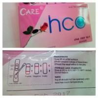 Tes kehamilan CARE HCG tetes