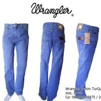 Jeans Wrangler Denim TurQuois