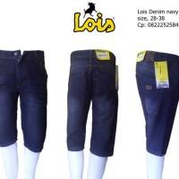 Jeans Lois Navy Blue Pendek