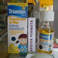 TRIAMINIC EKSPEKTORAN & PILEK syrup 60 ml (rasa lemon)