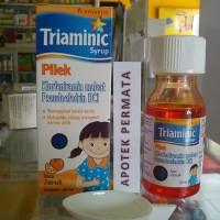 TRIAMINIC PILEK syrup 60 ml (rasa jeruk)