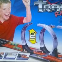 TRACK RACING 803 2 Jalur bisa untuk Hot Wheels skala 1:64