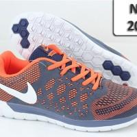 Sepatu Nike Lunarglide 202 orange blue NK-202