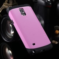 SGP SPIGEN SLIM ARMOR PINK Case For Samsung Galaxy Note 4
