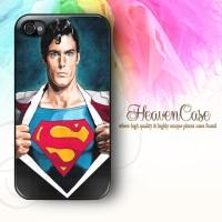 002 SUPERMAN Iphone 4/4s HARD Case,casing,unik,lambang,logo,simbol