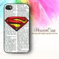 003 SUPERMAN Iphone 4/4s HARD Case,casing,unik,lambang,logo,simbol