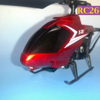 RC Helicopter MyChildHood X-20 - RC267 Merah