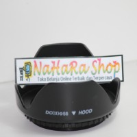 Lens Hood For Nikon Canon 58mm (Flower Tulip) Lenshood 58 mm
