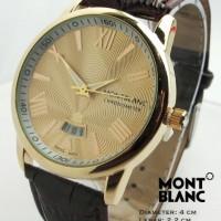 Montblanc Star ii Kulit (Cokelat Gold)