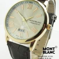 Montblanc Star ii Kulit (Cokelat Putih Gold)