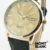 Montblanc Star ii Kulit (Hitam Gold)