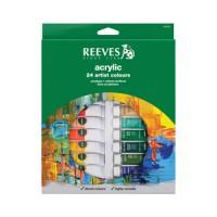 REEVES Acrylic Paint Set 24 pcs