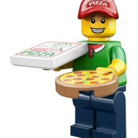 lego minifigures series 12 pizza delivery