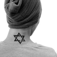 Star Of David - Tattoo Temporary Import by Potatoo