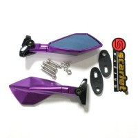SPION FAIRING NINJA 250 FULL CNC PURPLE