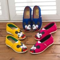 Kid Shoes - Kanvas Mickey (Pink, Yellow)