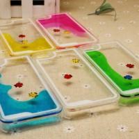 casing iphone 5/5S liquid float