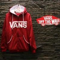 Coat / Jacket / Sweater Korea Vans Red Hoodie