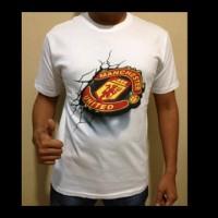 Tshirt 3D Logo Club Manchester United
