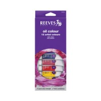 REEVES Oil Colour Paint Set 12 pcs