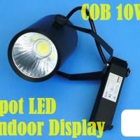 10W COB SpotLight LED WHITE 1000lm AC:220V INDOOR Reel Base