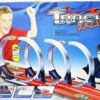 Track Racing Hotwheels Halilintar 3 Jalur