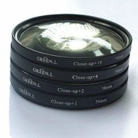 Filter Close-up SET (+1 +2 +4 +10) 58mm
