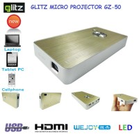 GLITZ LED MINI PROYEKTOR PORTABLE GZ-50