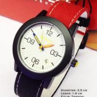 Jam Tangan Nixon Rasta Jamaica Putih