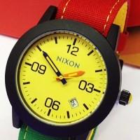 Jam Tangan Nixon Rasta Jamaica Kuning